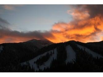Ski Apache Sunset