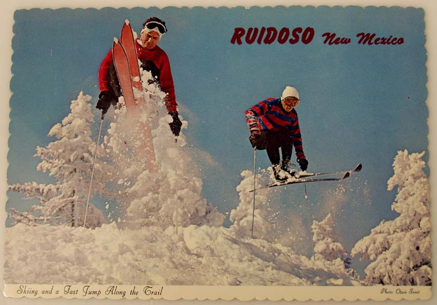Old Ruidoso Postcard