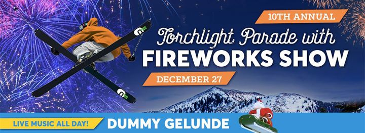 Dummy Gelunde Torchlight Parade with Fireworks Show