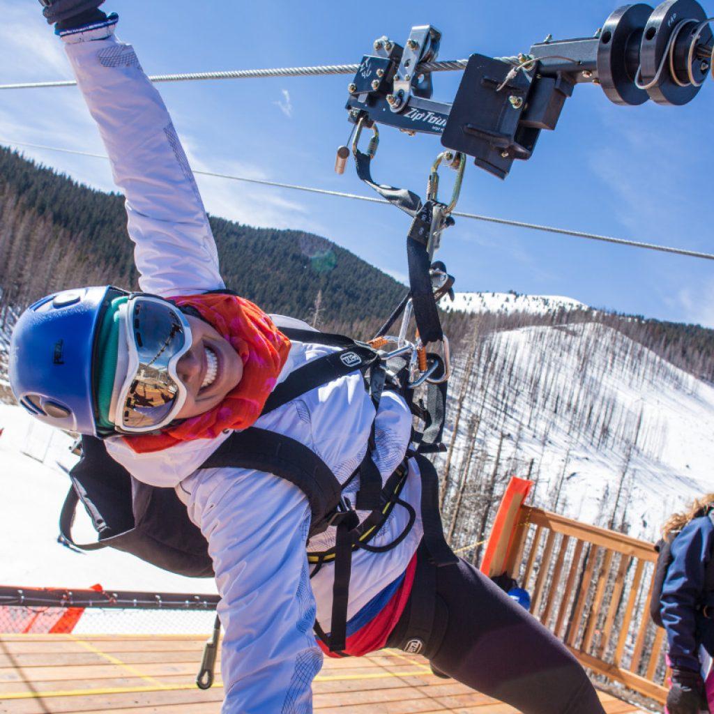 Ski Apache Ziptour