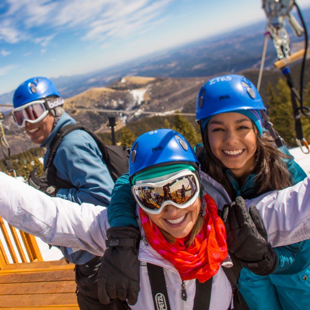 Zipline Ski Apache