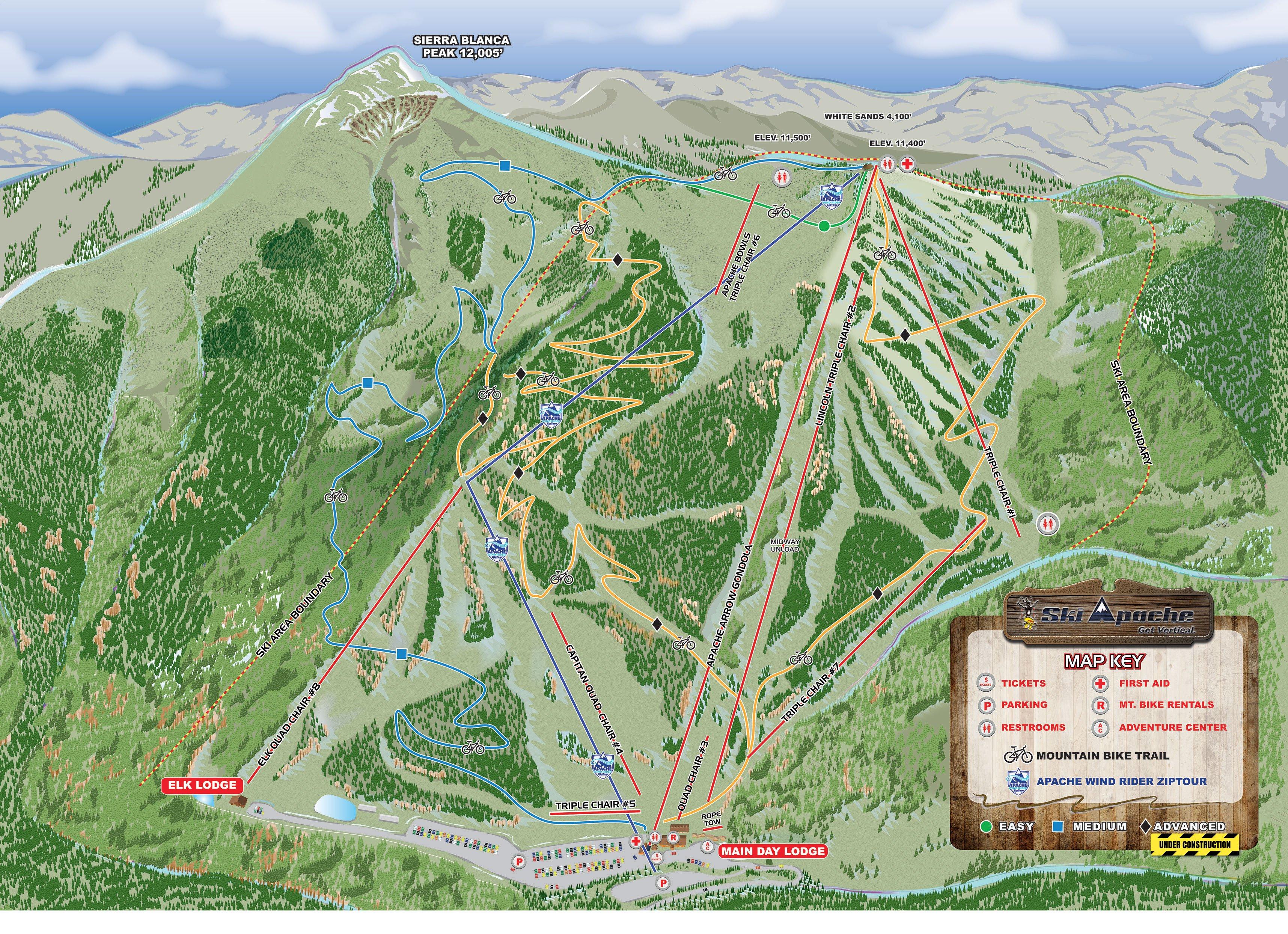 Hike and Bike Trail Map
